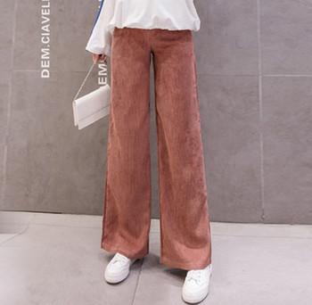 Γυναικείο μακρύ παντελόνι απλό μοντέλο για έγκυες γυναίκες