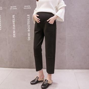 Γυναικείο ίσιο παντελόνι για έγκυες γυναίκες