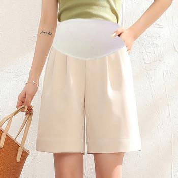 Μοντέλο γυναικείο σορτς φαρδύ μοντέλο για έγκυες γυναίκες