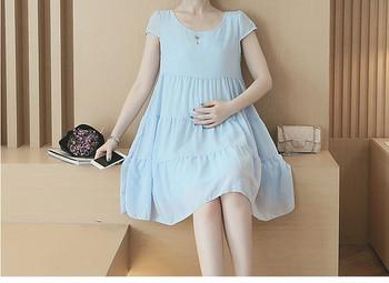 Κοντό γυναικείο φόρεμα για εγκύους