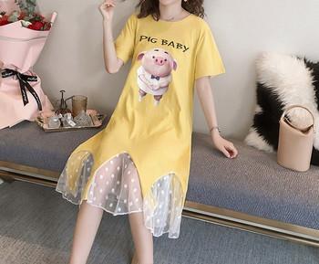 Γυναικείο φόρεμα με απλό μοντέλο για εγκύους