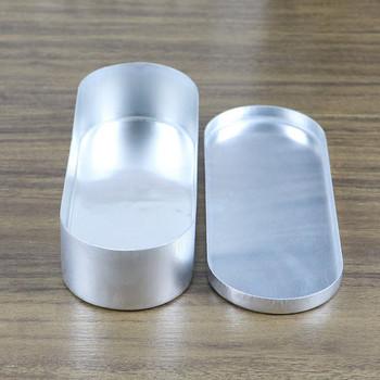 Κουτί αλουμινίου κατάλληλο για τον καθαρισμό καλλυντικών εργαλείων