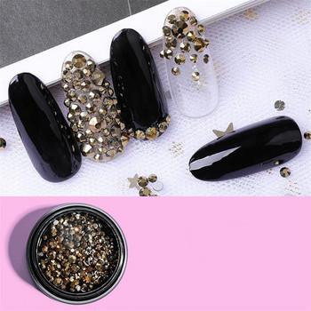 Χρωματιστές πέτρες για διακόσμηση νυχιών