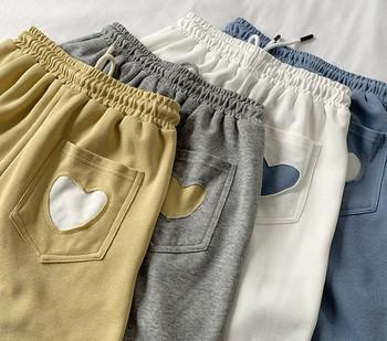 Ежедневен панталон с ластична талия и джоб
