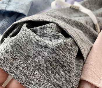 Къси панталони с ластична талия и връзки