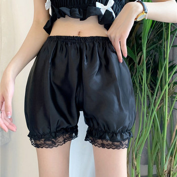 Актуални дамски къси панталони с висока талия и дантела