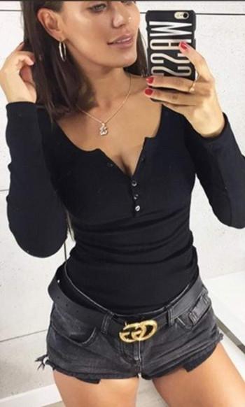 Дамска блуза в 6 цвята