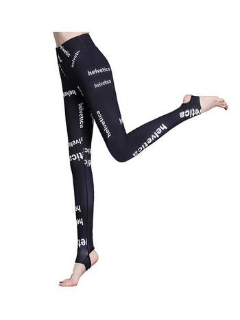 Γυναικείο αθλητικό κολάν με ψηλή μέση