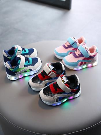 Нов модел детски маратонки със светеща подметка