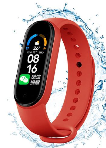 Водоустойчива фитнес гривна с Bluetooth и мониторинг за сърдечната честота