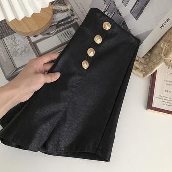 Модерен къс панталон с копчета